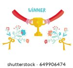 winner cup illustration with... | Shutterstock .eps vector #649906474