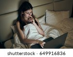 woman resting  woman resting... | Shutterstock . vector #649916836