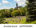 glasgow  uk  june 2013  view of ... | Shutterstock . vector #649930084
