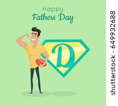 Happy Fathers Day Poster. Dadd...