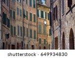 cityscape   siena  tuscany ... | Shutterstock . vector #649934830