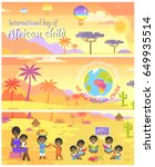 international day of african... | Shutterstock .eps vector #649935514