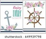 enjoy every moment inspiration... | Shutterstock .eps vector #649939798