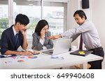 asian businessman talking with...   Shutterstock . vector #649940608