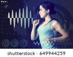 sports engineering concept.... | Shutterstock . vector #649944259