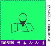 location icon flat. simple...