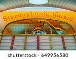 Close Up Of A Vintage Jukebox...