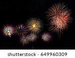 Fireworks Light Up The Sky New...