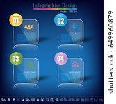 timeline infographic   business ... | Shutterstock .eps vector #649960879