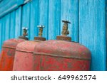 old gas cylinder