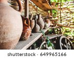 Antique Jars And Objects In...