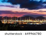 land scape factory   oil and...   Shutterstock . vector #649966780
