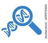 cobalt genetics interface icon. ... | Shutterstock .eps vector #649970404