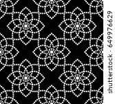 tiled seamless geometric... | Shutterstock .eps vector #649976629
