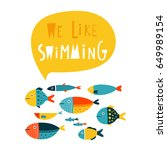 We Like Swimming  Template Wit...