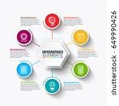 infographics data visualization ... | Shutterstock .eps vector #649990426