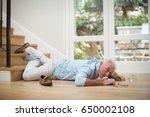 Senior Man Fallen Down From...
