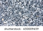White Crushed Stones Texture...