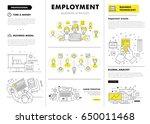 business employment big modern... | Shutterstock .eps vector #650011468