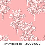 illustration made by ink on... | Shutterstock . vector #650038330