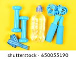 sports equipment set.  | Shutterstock . vector #650055190