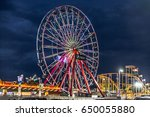 ocean city  maryland   may 27 ... | Shutterstock . vector #650055880