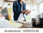 freelance photographer  photo... | Shutterstock . vector #650059138