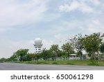 Small photo of Air transportation radar tower in Bangkok,Thailand May 25,2017