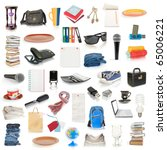 objects collection isolated on... | Shutterstock . vector #65006221