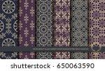 vector abstract islamic element ... | Shutterstock .eps vector #650063590