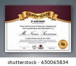 multipurpose professional... | Shutterstock .eps vector #650065834