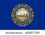 New Hampshire State Flag Of...