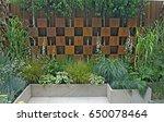 contemporary urban city garden   Shutterstock . vector #650078464