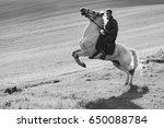 man on horse | Shutterstock . vector #650088784