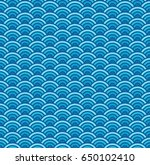vector colored geometric... | Shutterstock .eps vector #650102410
