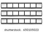 on white in black and white... | Shutterstock .eps vector #650105023