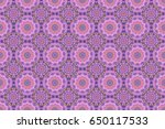 abstract pattern in arabian... | Shutterstock . vector #650117533