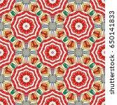 sketch of colored mehndi...   Shutterstock . vector #650141833