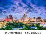 san antonio  texas  usa... | Shutterstock . vector #650150233