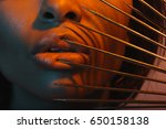 cropped shot of young african... | Shutterstock . vector #650158138