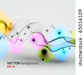 abstract vector background. | Shutterstock .eps vector #65016109