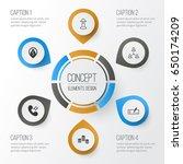 management icons set.... | Shutterstock .eps vector #650174209