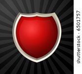 red blank icon   Shutterstock . vector #6501757