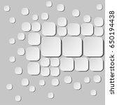 minimalistic 3d design.... | Shutterstock .eps vector #650194438