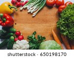 healthy food concept.... | Shutterstock . vector #650198170