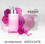 vector cosmetics illustration | Shutterstock .eps vector #650211478