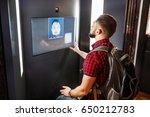 a man undergoes an access... | Shutterstock . vector #650212783