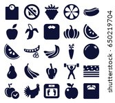 diet icons set. set of 25 diet...   Shutterstock .eps vector #650219704
