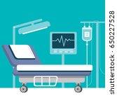 hospital ward | Shutterstock .eps vector #650227528