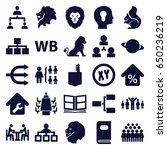 company icons set. set of 25... | Shutterstock .eps vector #650236219